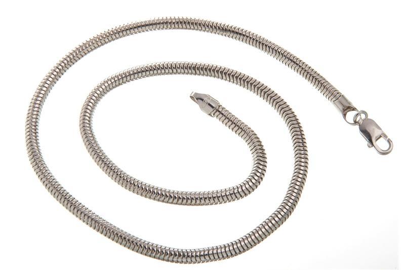Schlangenkette  Hochwertige Schlangenketten, Omegahalsreifen, Veneziaketten direkt ...