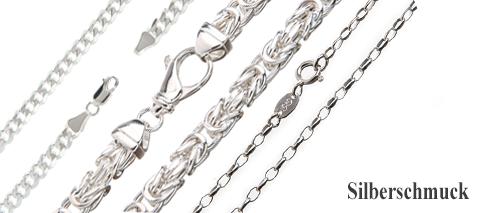 Silberschmuck kaufen  Silberketten-Store: Silberketten und versilberte Ketten günstig ...