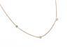Fashion Line Kette  M17271 - 925 Silber, vergoldet Länge: 42cm