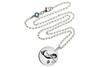 Kinder Kette ChainMAGPIE mit Sternzeichen Jungfrau J - 925 Silber 925 Silber