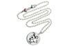 Kinder Kette ChainMAGPIE mit Sternzeichen Steinbock - 925 Silber 925 Silber