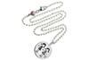 Kinder Kette ChainMAGPIE mit Sternzeichen Zwilling M - 925 Silber 925 Silber