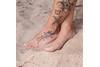 Fußkette Erbse 1,6 mit Stern -925 Silber