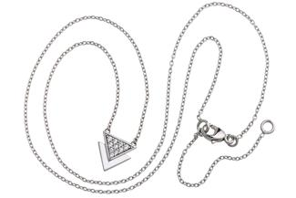 Faschion Line Set Triangle - 925 Silber