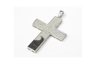 Anhänger Kreuz - 925 Silber AC02011