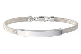 Fashion Gravurarmband - 925 Silber 186
