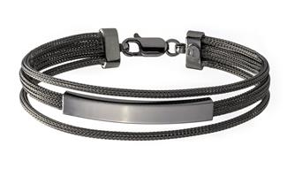 Fashion Armband - 925 Silber, Ruthenium RUT188