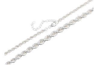 Kordelkette, verlaufend - 925 Silber 2.8814B