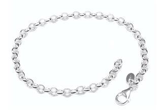 4mm Erbskette Armband wählbar mit Charmanhänger und Geschenkverpackung