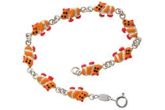 Kinder-Armband Hippos - 925 Silber