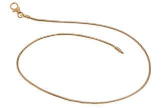 Fußkette Schlange 1,4mm - 333 Gold