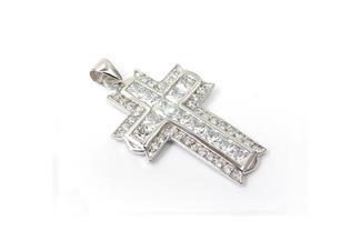 Anhänger Kreuz - 925 Silber 38P1941