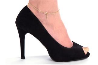 Fußkette Figaro 2,4mm - 585 Gold