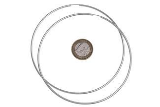 Creolen, Durchmesser 10cm - 925 Silber 75.750112005B