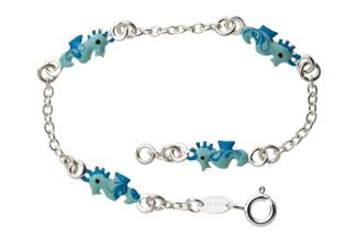 Kinder-Armband mit 4 Seepferden