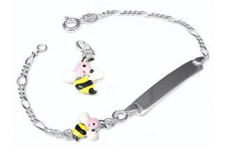 Kinder-Gravurarmband Biene