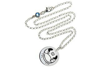 Kinderkette ChainMAGPIE mit Sternzeichen Krebs J 925 Silber