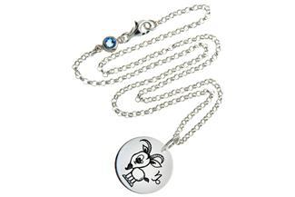 Kinderkette ChainMAGPIE Sternzeichen Steinbock J 925 Silber