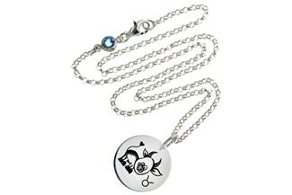 Kinderkette ChainMAGPIE mit Sternzeichen Stier J 925 Silber