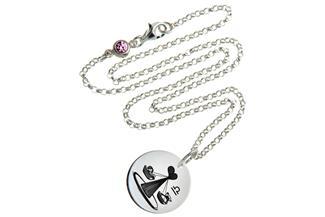 Kinderkette ChainMAGPIE mit Sternzeichen Waage 925 Silber