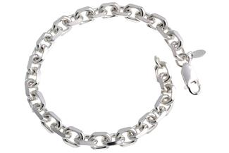 Ankerkette Armband 6,5mm - 925 Silber