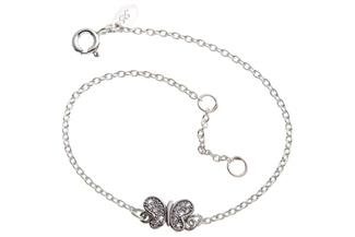 Fashion Line Armband Butterfly - 925 Silber