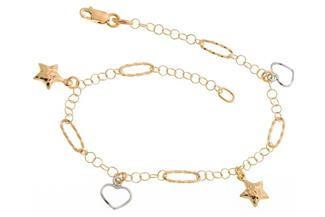 Fashion Line Armband 2623 - 375 Gold
