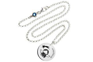 Kinder Kette mit Gravuranhänger Engel I - ChainMAGPIE 925 Silber