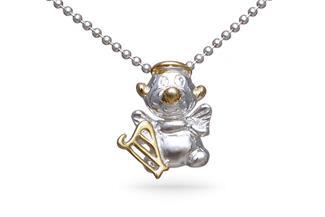 Anhänger Engel - 925 Silber