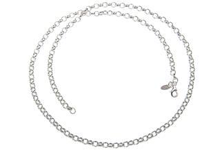 Erbskette 4mm - 925 Silber