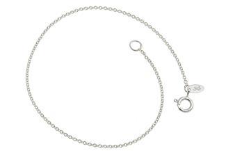 Erbskette Armband 1,3mm - 925 Silber