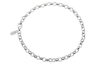 Erbskette Armband 4mm - 925 Silber