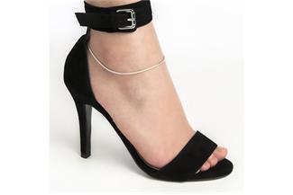 Fußkette Schlange 2mm - 925 Silber