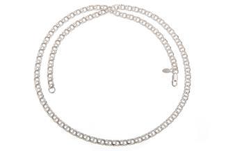 Garibaldikette 5mm - 925 Silber