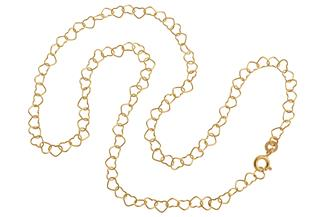 Goldkette Herzen - 333 Gold