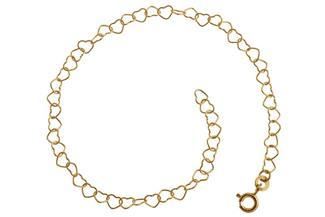 Armband Herzen - 333 Gold