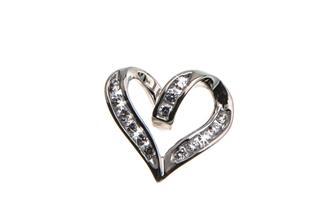 Anhänger Herz - 925 Silber