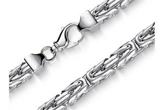 Königskette 10mm - 925 Silber