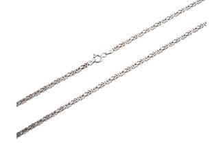 Königskette 2,5mm - 925 Silber