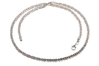 Königskette 3mm - 925 Silber