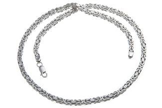 Königskette 4,5mm - 925 Silber