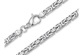 Königskette 5mm - 925 Silber