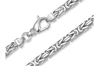Königskette 6mm - 925 Silber