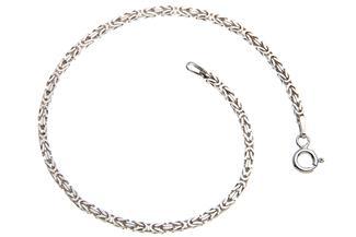 Königskette Armband 2mm