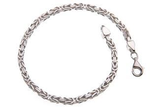 Königskette Armband 3mm