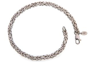 Königskette Armband 3,5mm - 925 Silber