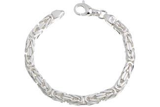 Königskette Armband 6mm - 925 Silber