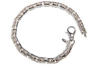 Königskette Armband, rund 6mm