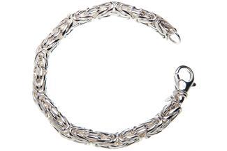 Königskette Armband, rund 8mm