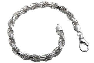 Kordelkette Armband 6,5mm